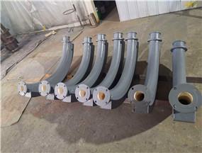 耐磨陶瓷弯头性能参数适用单位