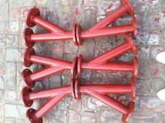 耐磨陶瓷弯头是焊接型还是法兰链接