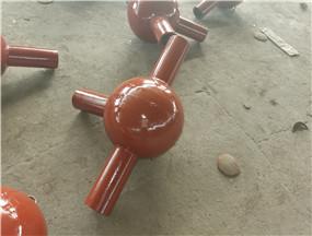 陶瓷耐磨球形弯头