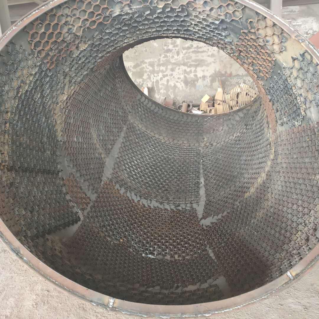 龟甲网弯头